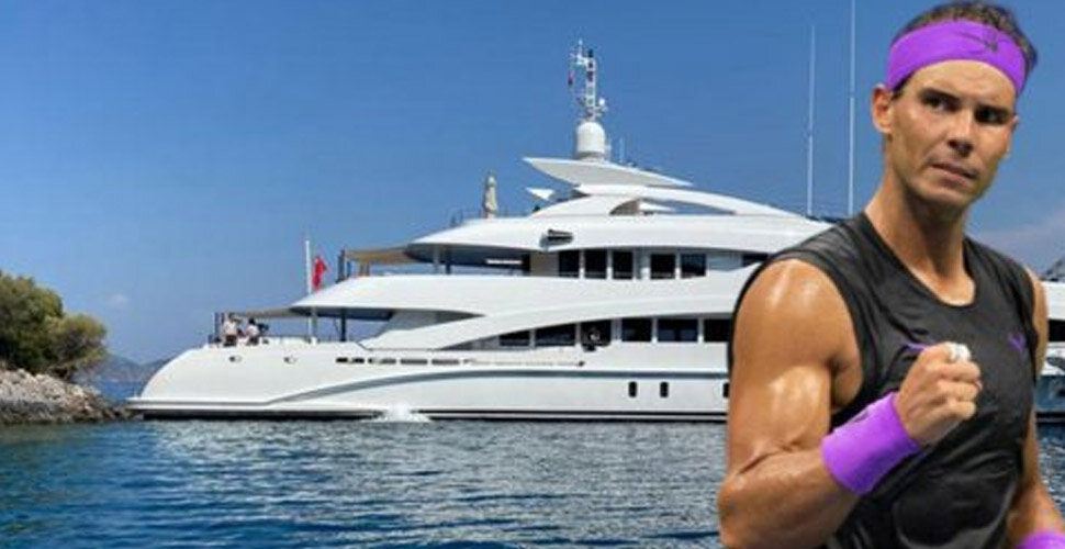 Famous tennis player Rafael Nadal had a yacht accident in Göcek